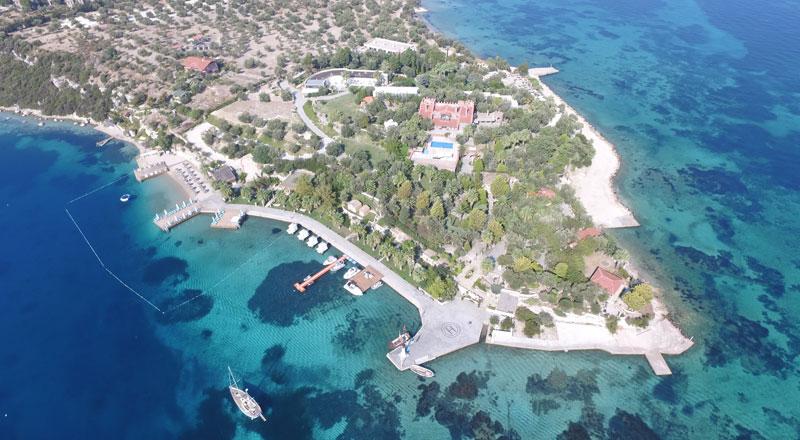 İzmir Kalem Adası Oliviera Resort