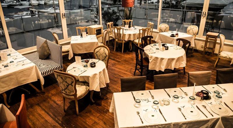 İzmir Tuval Restoran - Levent Marina