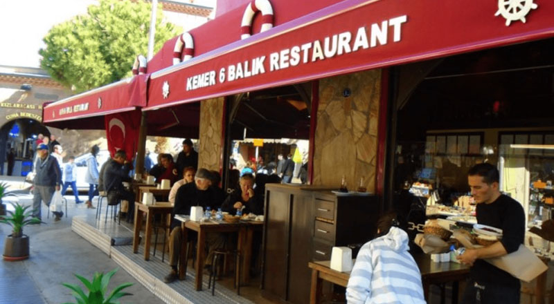 İzmir Kemer 6 Restoran
