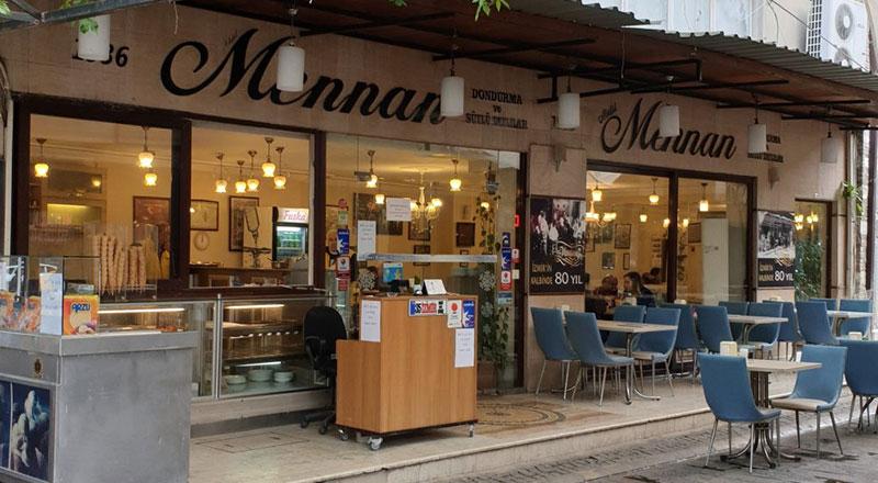 İzmir Mennan Sütlü Tatlı ve Dondurma