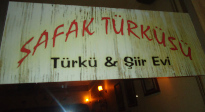 İzmir Şafak Türküsü Şiir Evi