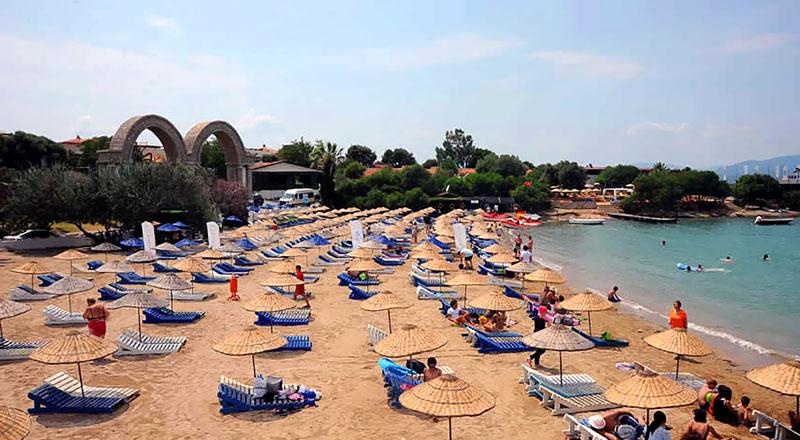 İzmir Gemi Suyu Mevkii Halk Plajı