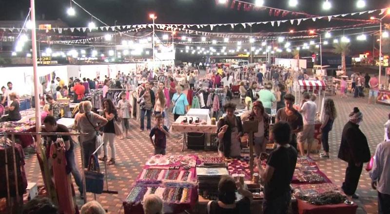 İzmir Güzelbahçe Gece Pazarı