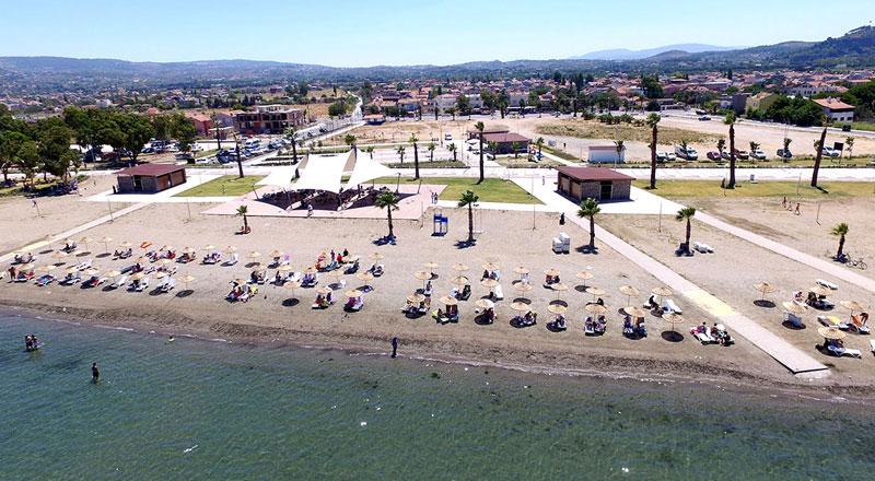 İzmir Kum Denizi Plajı