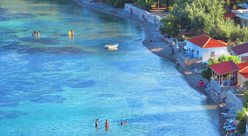 İzmir Mimoza Plajı Koyu