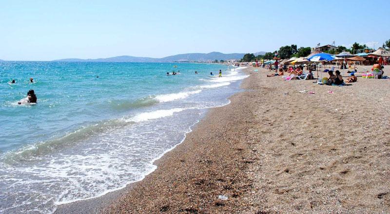 İzmir Ürkmez Halk Plajı