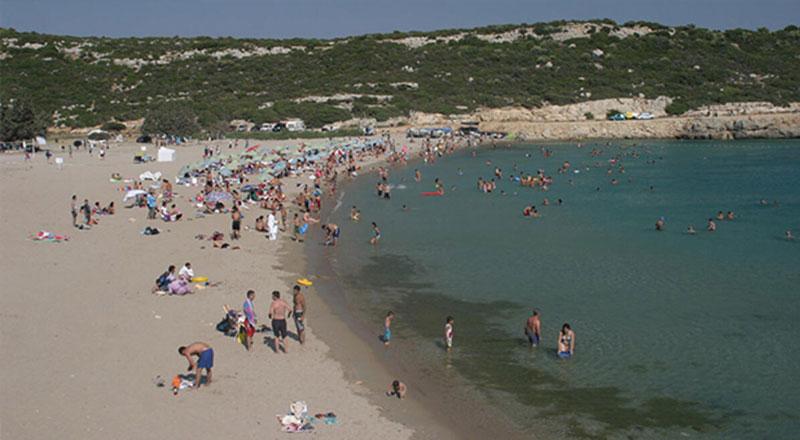 İzmir Özbek Akkum Plajı