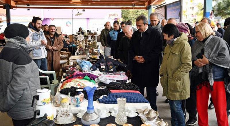 İzmir Urla İkinci El ve Antika Pazarı